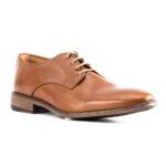Zapatos formales de cuero liso