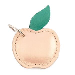 Llavero frutal de manzana